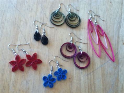 quilling jewellery tutorial for beginners how to make quilling earrings for beginners yrchoil