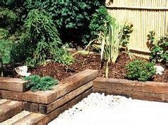 Reclaimed Railway Sleepers Manchester by Garden On Railway Sleepers Garden Mulches And