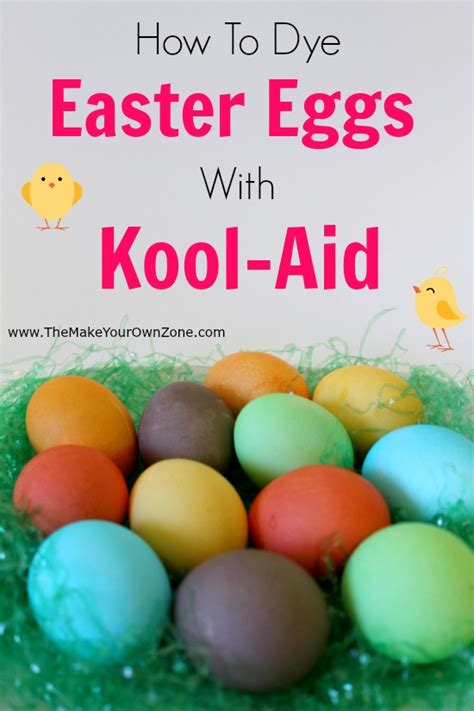 coloring eggs with kool aid how to dye easter eggs with kool aid