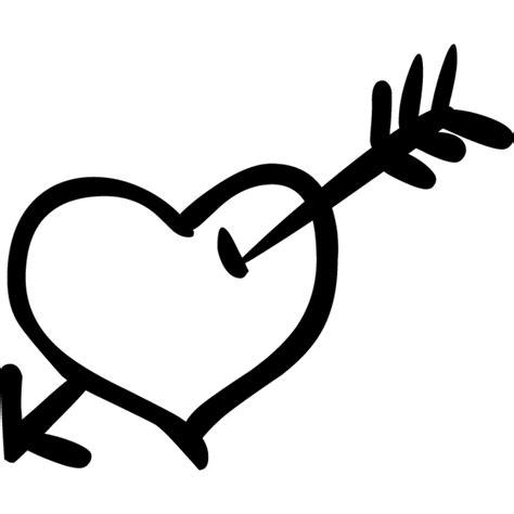 imagenes de corazones con flechas corazon con flecha vinilowcost