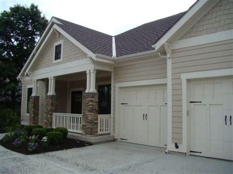 bungalow exterior paint color is sw 7512 pavillion beige and the trim is sw 6098 pacer