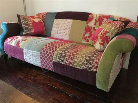 Dfs Sofa Collection by Dfs Shout Patchwork Sofa And Chair Set In Balham