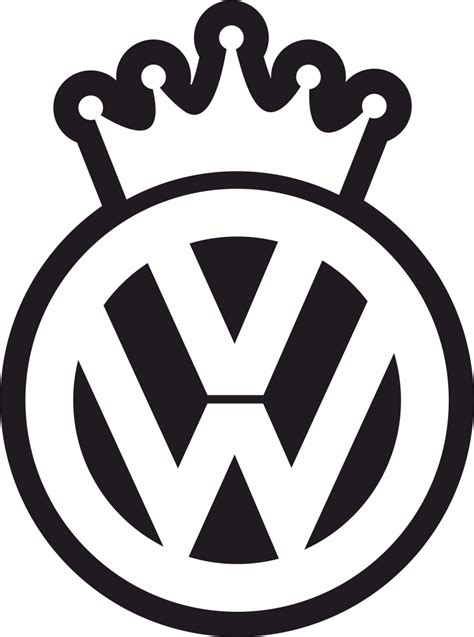 VW King Decal Sticker Free Vector cdr Download - 3axis.co