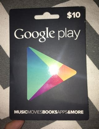 10 Google Play Gift Card - free 10 dollar google play gift card gift cards listia com auctions for free stuff