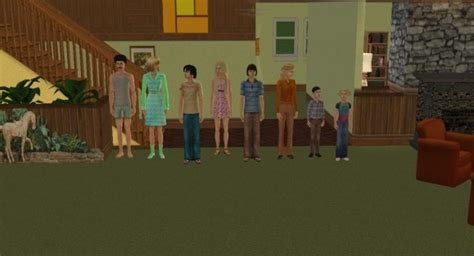 Discussion House Floor Today - mod the sims brady bunch tv house