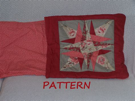 pattern for making a quillow quilt pillow pattern star quillow pdf 017