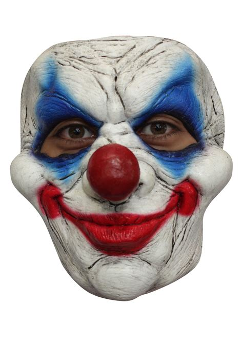 How To Make A Clown Mask Out Of Paper - clown 5 mask