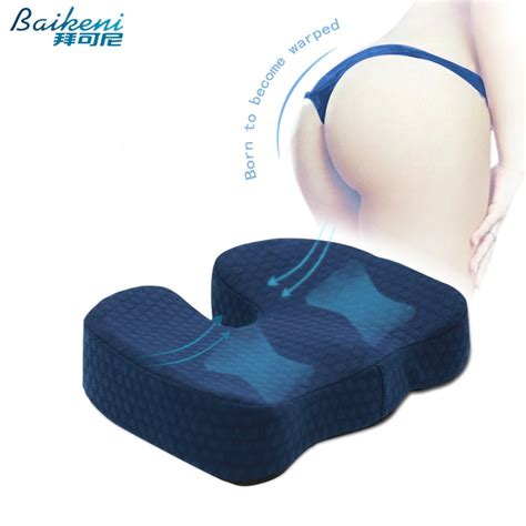 cuscino coccige ergonomic hemorrhoid seat cushion memory foam coccyx