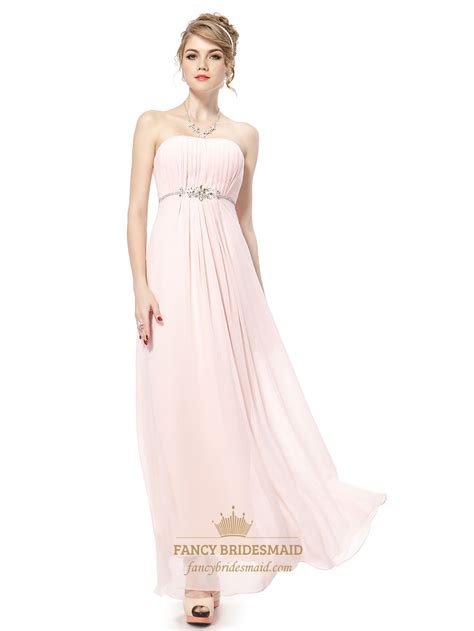 light pink bridesmaid dresses light pink bridesmaid dresses chiffon strapless