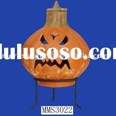 Clay Pumpkin Chiminea Terracotta Smiling Pumpkin Chimenea For Sale Price China