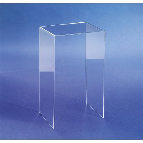 acrylic side table interior design interlude langston