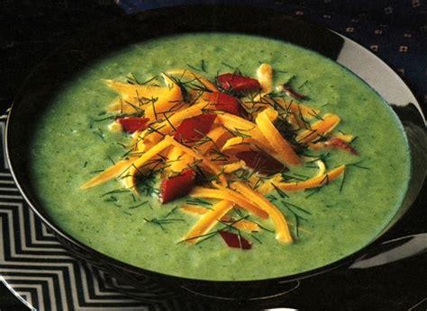 potage au brocoli et au fromage recette plaisirs laitiers