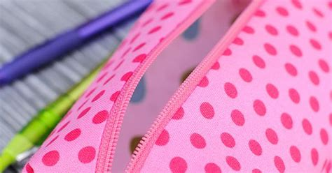 printable fabric cricut pencil case tutorial tips for cutting fabric with a