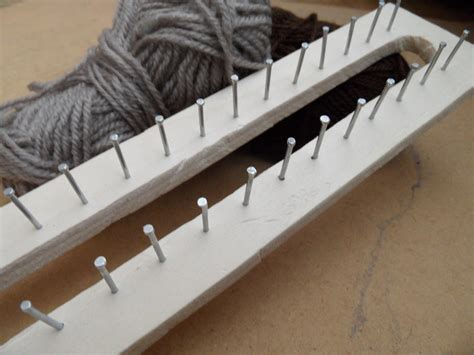 how to make a knitting loom rectangular loom 183 how to make a knitting loom