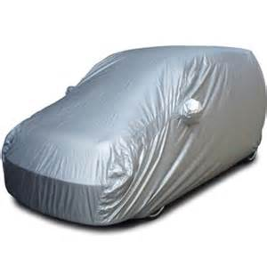 Car Cover For Wagon R Buy Maruti Suzuki Wagon R 1 0 Car Cover Silver