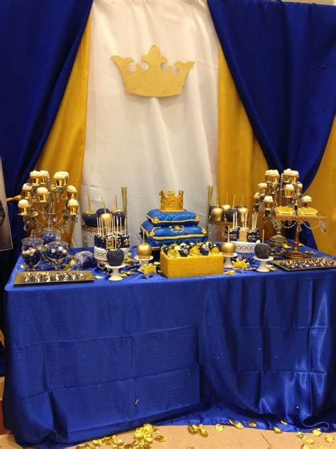blue gold themes ideas royal baby shower baby shower party ideas royal baby