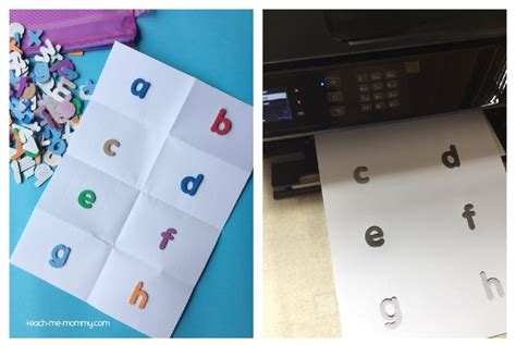 can you make copies of laminated paper a z sticker book busy bag teach me
