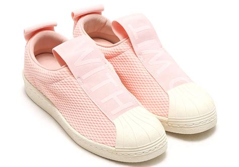 Adidas Superstar Slip On Mesh White adidas superstar slip on mesh by9138 sneakernews