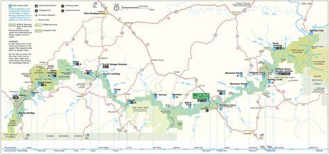 river map buffalo national river map trail maps buffalo national river cabins and canoeing in