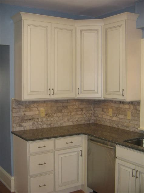 sky blue kitchen  linen cabinets traditional kitchen minneapolis  cliqstudios cabinets