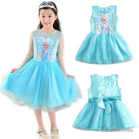Dress Babycute Coksu new year children dresses for elsa dress princess costume