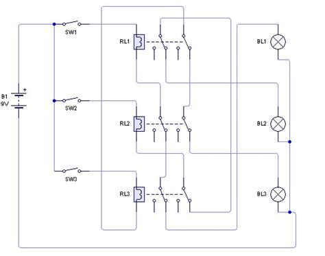 membuat bel kuis dengan relay belajar teknik elektro