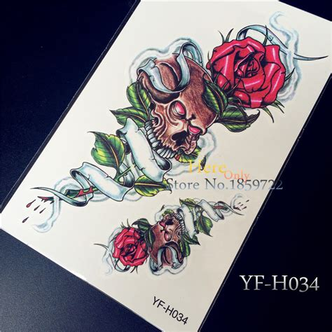 one piece temporary tattoo online buy wholesale pirate skull tattoos from china