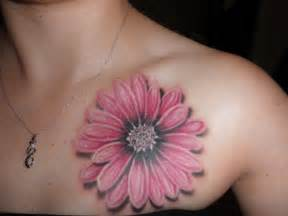 Flower Tattoo Pictures - daisy tattoos designs ideas and meaning tattoos for you