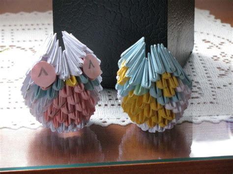 Modular Origami Owl - modular origami animals 183 how to fold an origami bird