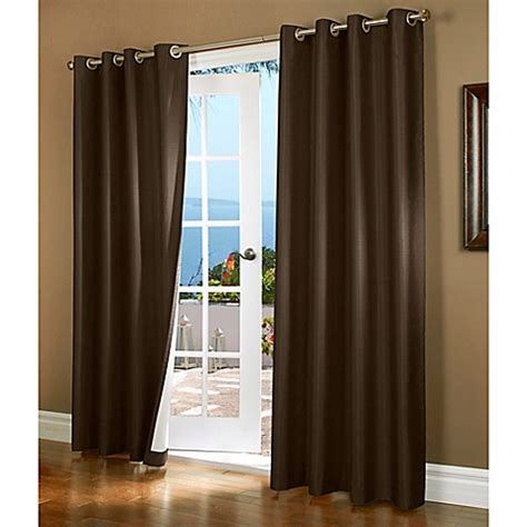 95 inch curtains buy horizon 95 inch insulated blackout grommet top window