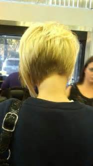womens asymmetrical haircuts front and back asymmetric short bob back view hair and nails