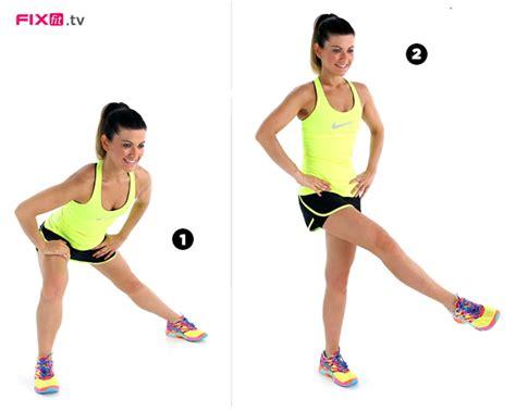 esercizi per le cosce a casa l allenamento per snellire pancia snellire cosce e