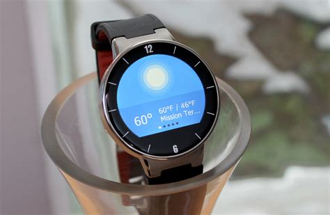Smartwatch Alcatel One Touch Alcatel Onetouch Review A Pre Apple