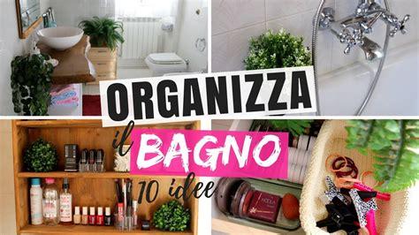 Organizzare Cassetti Bagno by 10 Idee Come Organizzare Il Bagno E Tenere In Ordine