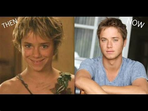 peter pan real actor then and now peter pan cast 2018 youtube