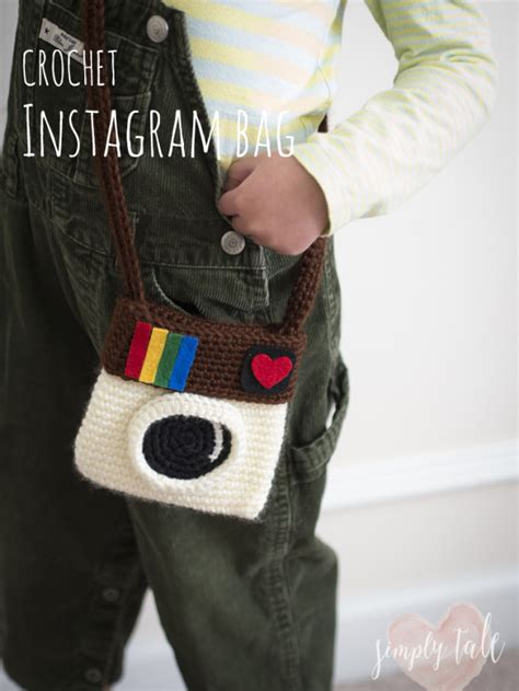 instagram slingbag crochet instagram bag simply tale