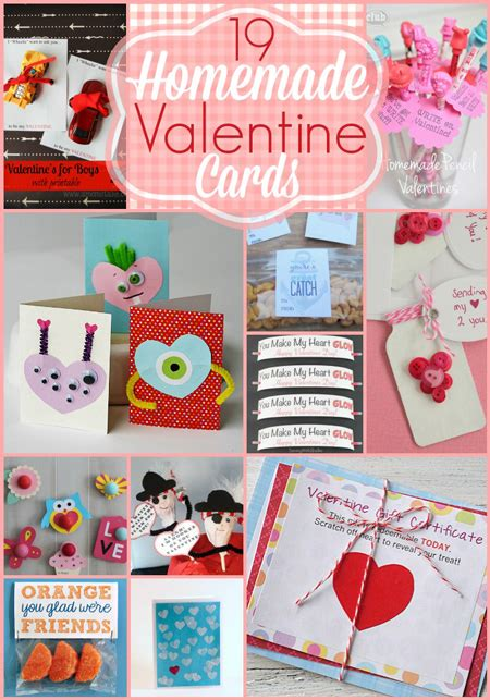 cute homemade valentine ideas 19 kids homemade valentine card ideas cute easy fun