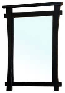 black framed bathroom mirrors solid wood frame mirror black asian bathroom mirrors