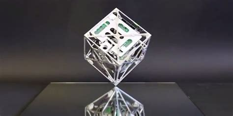 Balance Cube cubli this robot cube can walk rotate balance and jump huffpost uk