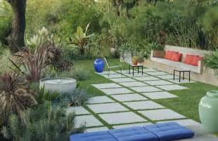 Large Concrete Pavers For Patio Hardscaping 101 Concrete Pavers Gardenista