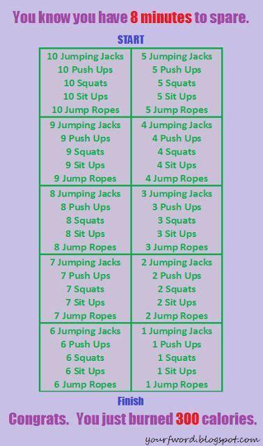 best 25 300 calorie workout ideas on