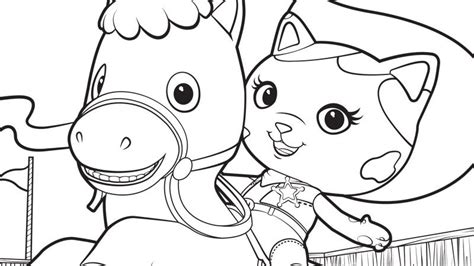 disney preschool fishacb6 coloring pages printable sheriff callie and sparky printables disney junior kid
