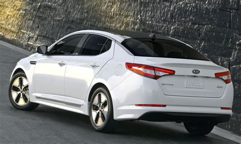 New Kia Optima Hybrid New 2013 Kia Optima Hybrid Unveiled Machinespider