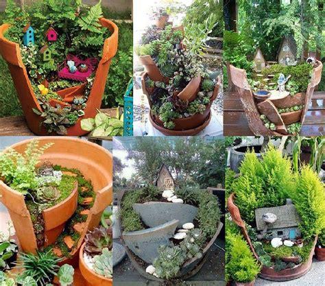 miniature gardening ideas potted fairy gardens