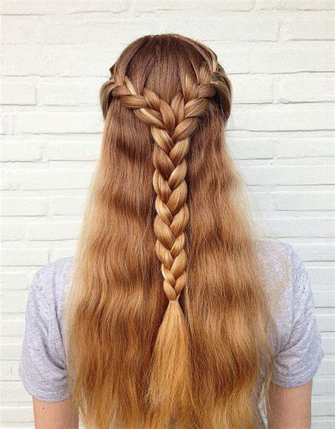 30 gorgeous braided hairstyles for long hair braided crown