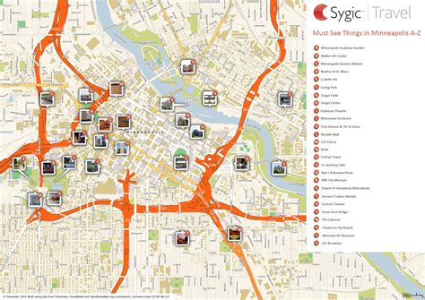 map of minneapolis map of minneapolis attractions sygic travel
