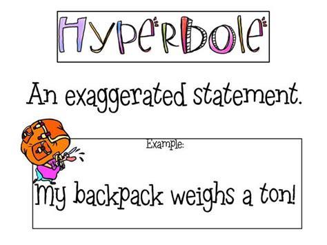 exle of hyperbole image gallery hyperbole exles