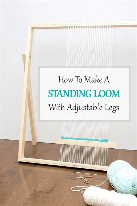 build adjustable legs 25 b 228 sta id 233 erna om loom p 229 pinterest v 228 vning