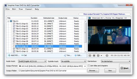 format dvd en divx free dvd to avi converter rip dvd to xvid divx h264 freely