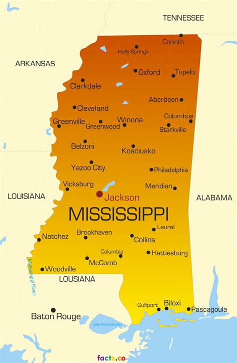 map of ms mississippi map blank political mississippi map with cities